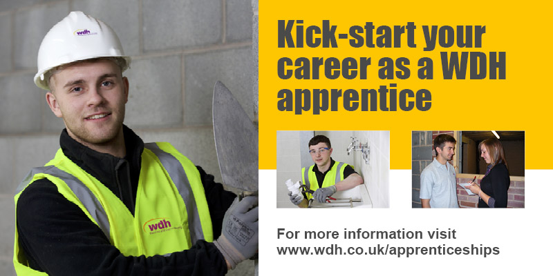 Kick start your career as a WDH apprentice