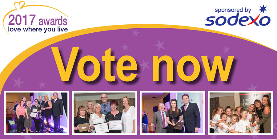 Love Where you Live Awards - voting now open