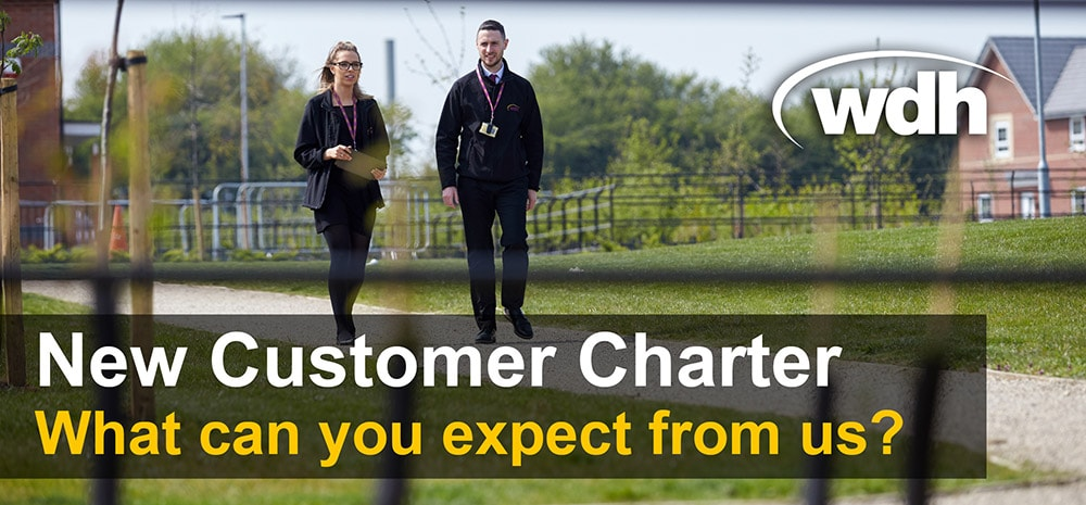 New customer charter - what can you expect from us?