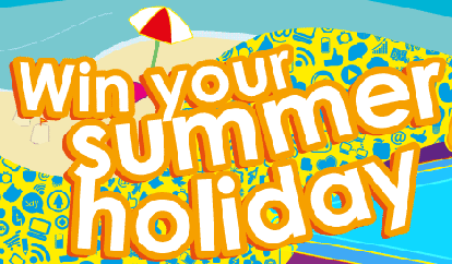 Win your summer holiday!