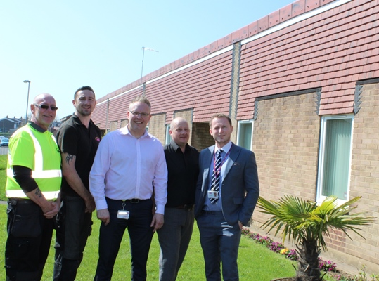 WDH praised for roofing works