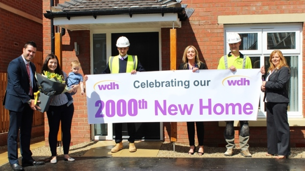 WDH hands over the keys to their 2,000th new build home