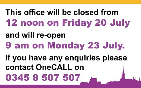 Airedale and South Elmsall service access point (SAP) closure