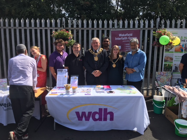 Partners support local mosque's open day event