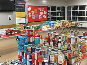 WDH supports emergency food banks