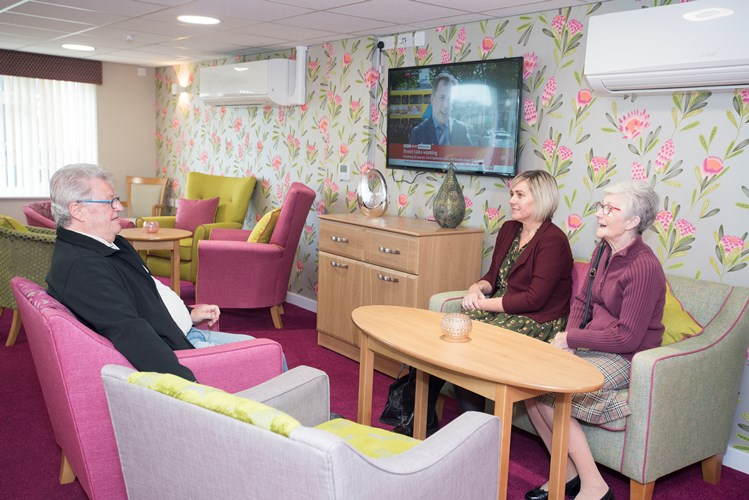 Residents in South Elmsall are over the moon with Farfield Court's new look!