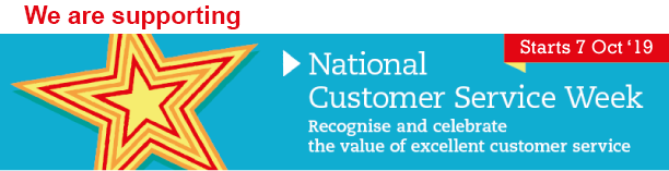 We are supporting National Customer Service Week