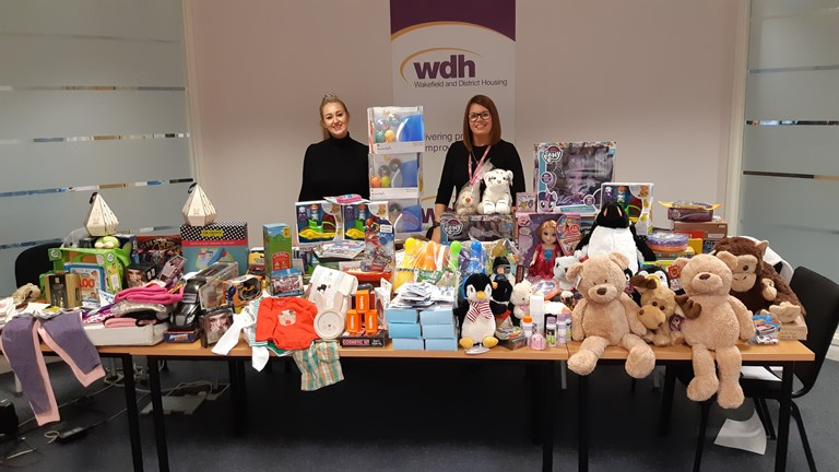 A better Christmas for 25 families thanks to Radio Aire's Mission Christmas