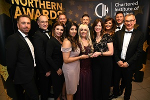 We have won the Housing Team of the Year at the CIH Northern Awards.